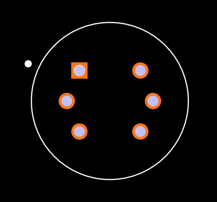 SEN-08880 Footprint