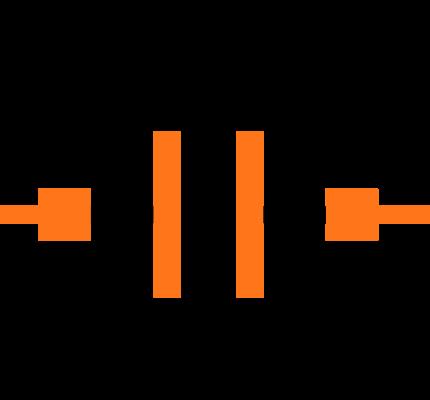 C0603X7S0J224K030BC Symbol