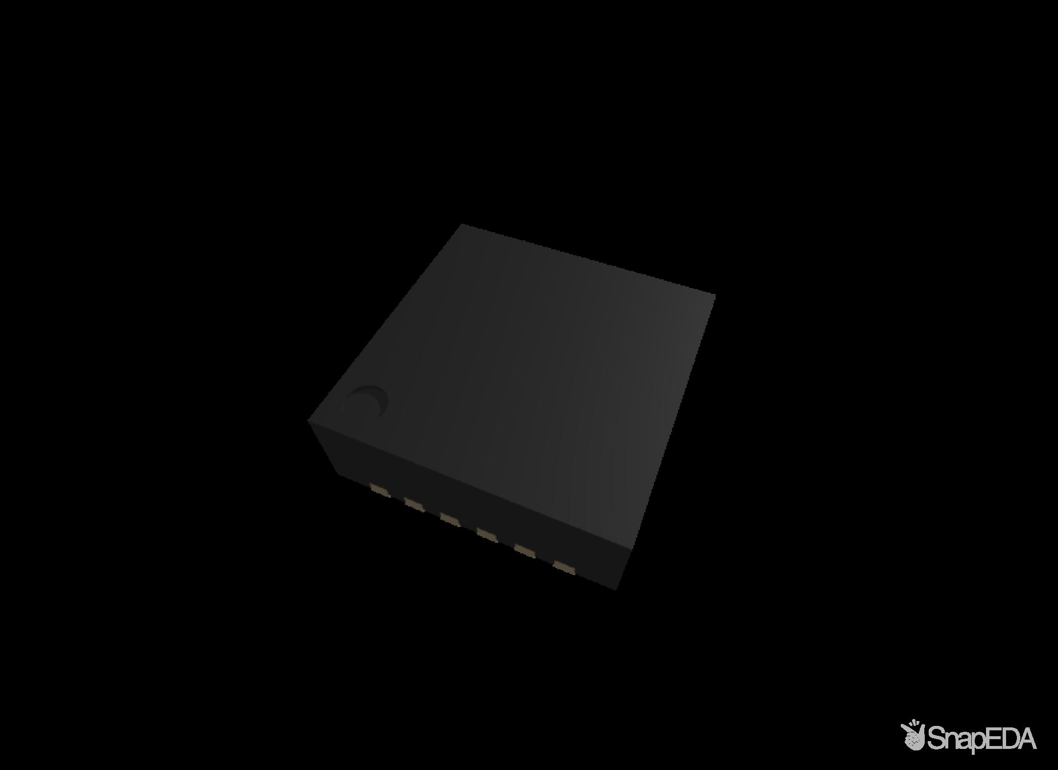 ICM-20948 3D Model