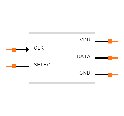 ICS-41350 Symbol