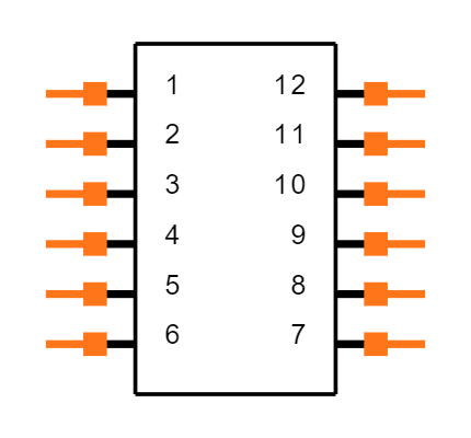 DT13-12PB Symbol