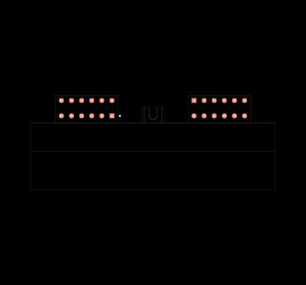 DTM13-12PA-12PB-R008 Footprint