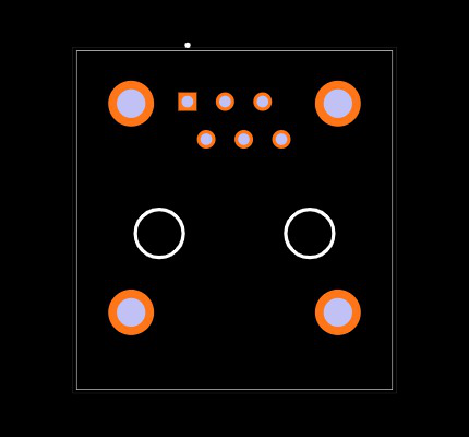 RJ11-6LC1-B Footprint