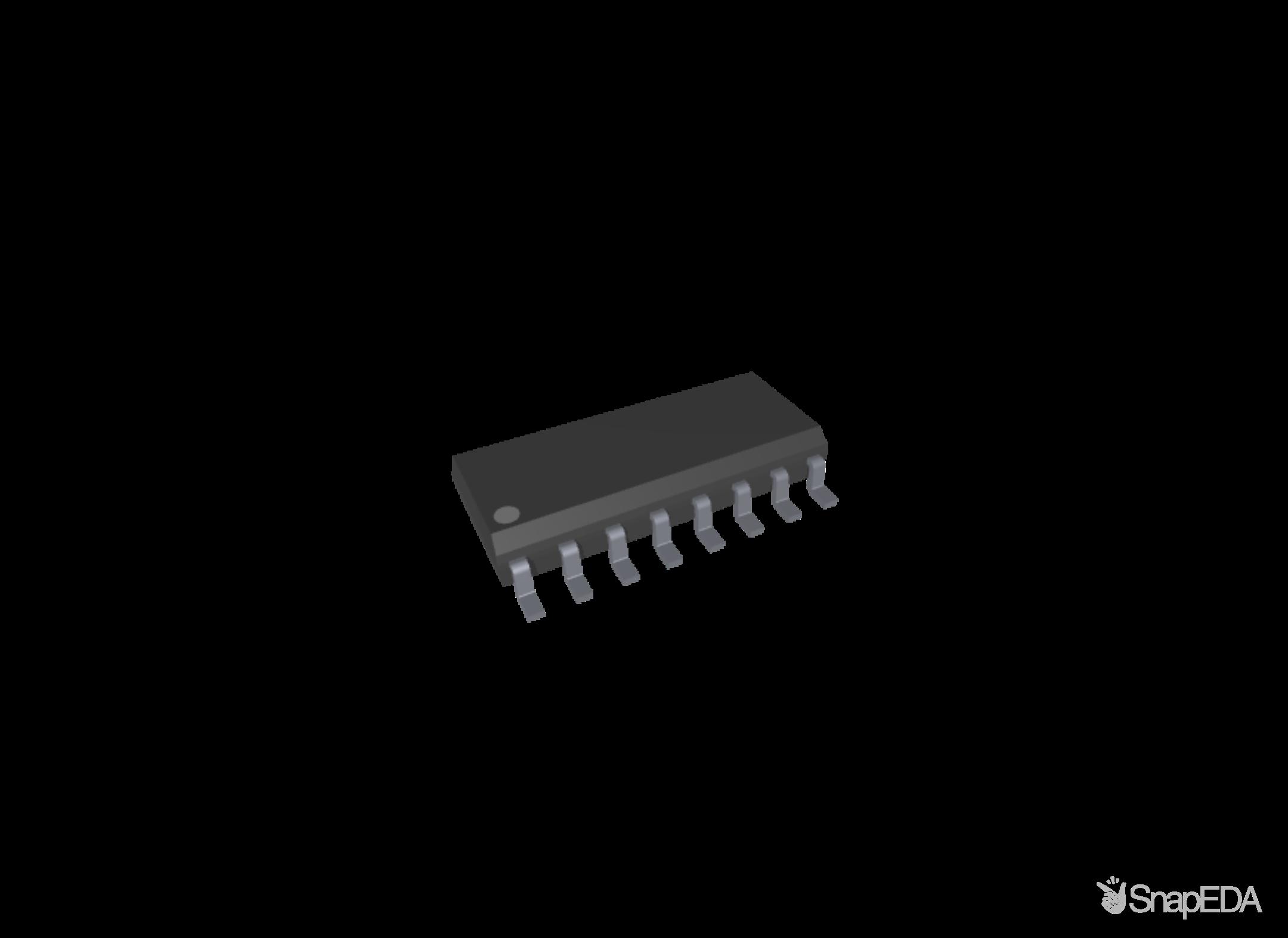 ADS1231IDR 3D Model