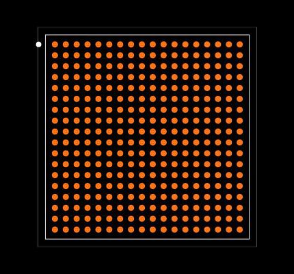 AM3352BZCZ60 Footprint