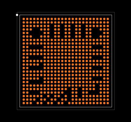 AM5706BCBDD Footprint