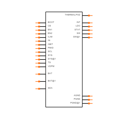 BQ24250RGET Symbol