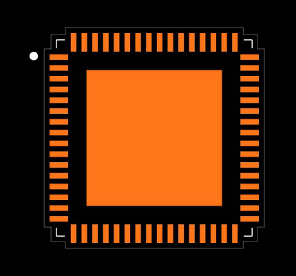 CC3220SF12ARGKT Footprint