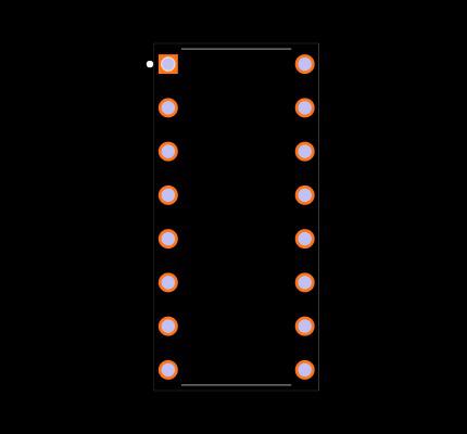 CD4022BE Footprint