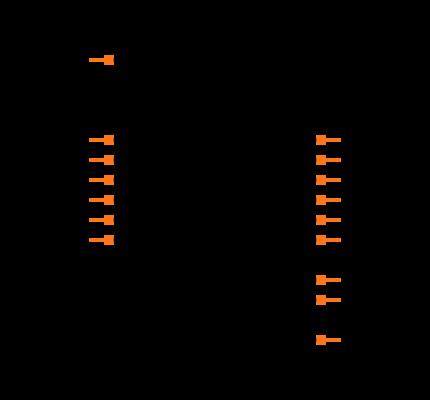 CD4050BDR Symbol
