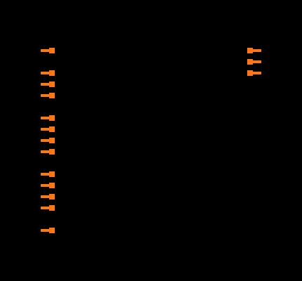 CD74HC85E Symbol