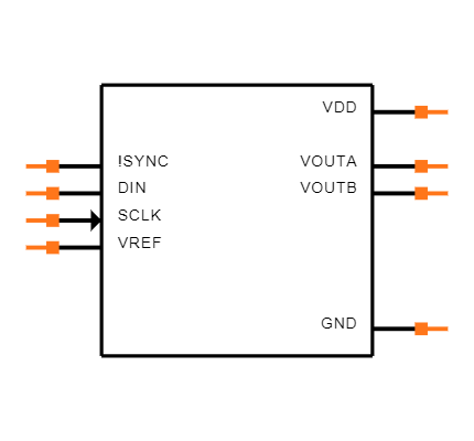 DAC8552IDGKT Symbol