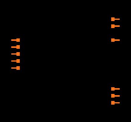 DAC8581IPW Symbol