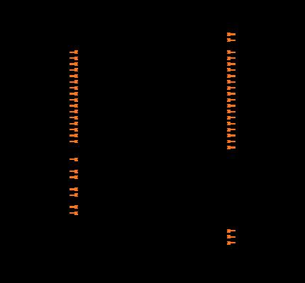 DP83848IVV/NOPB Symbol