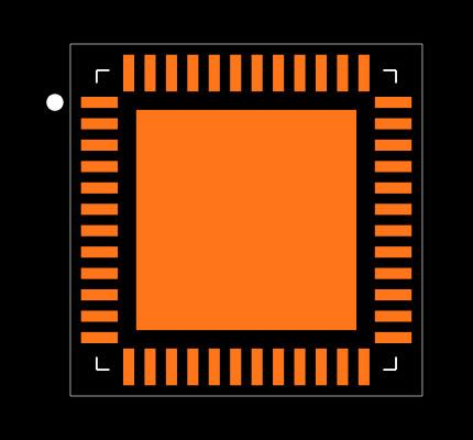 DP83867CRRGZT Footprint