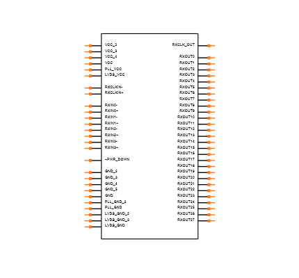 DS90CF384AMTDX/NOPB Symbol