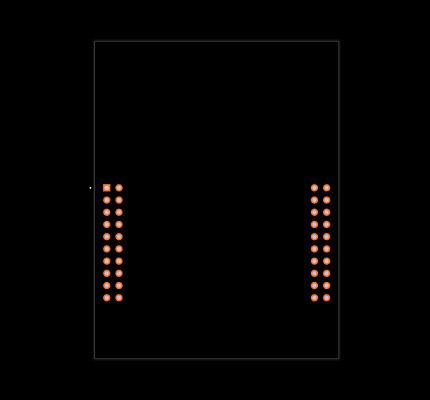 EK-TM4C123GXL Footprint