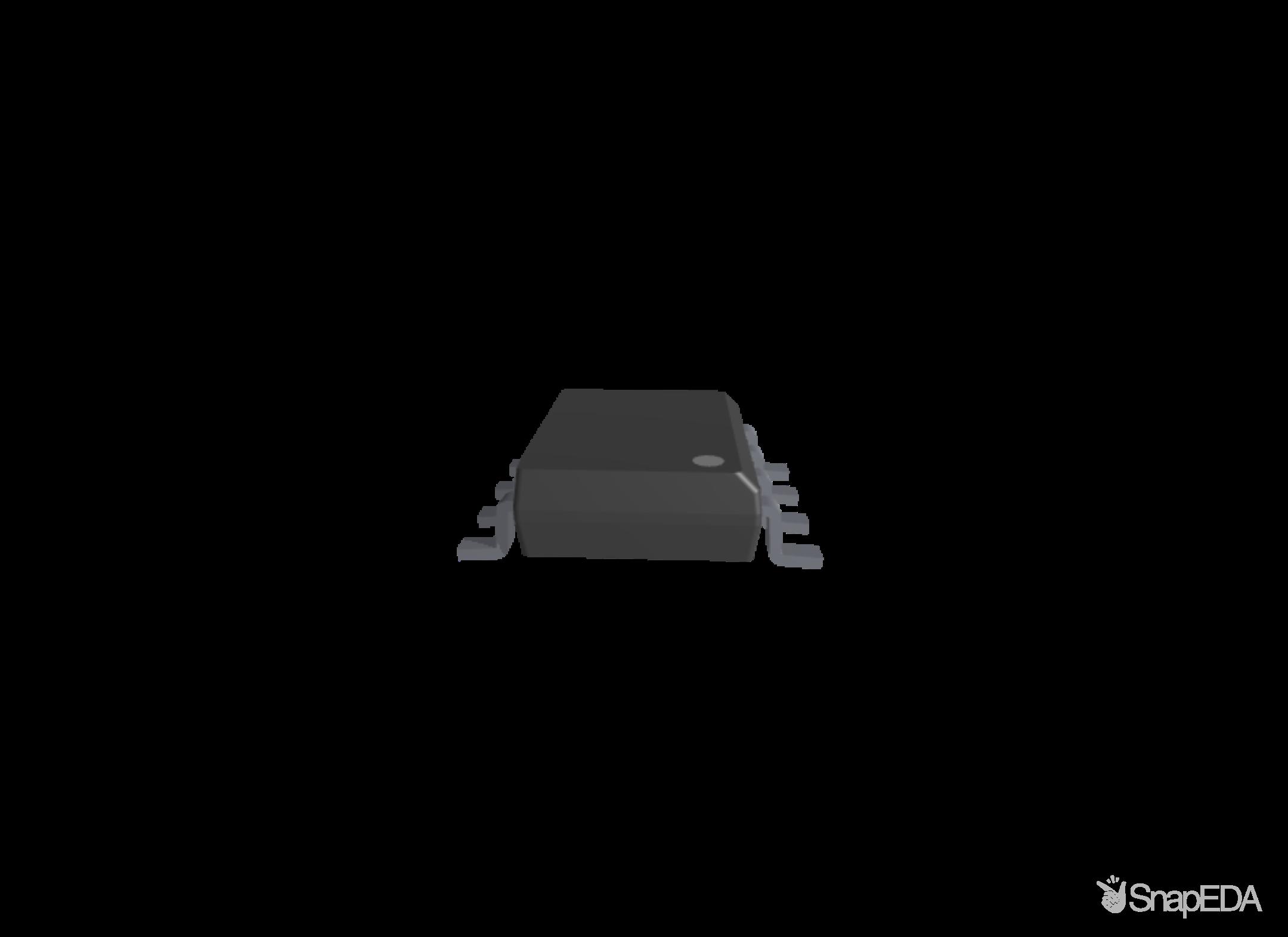 INA219BIDR 3D Model