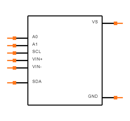 INA219BIDR Symbol
