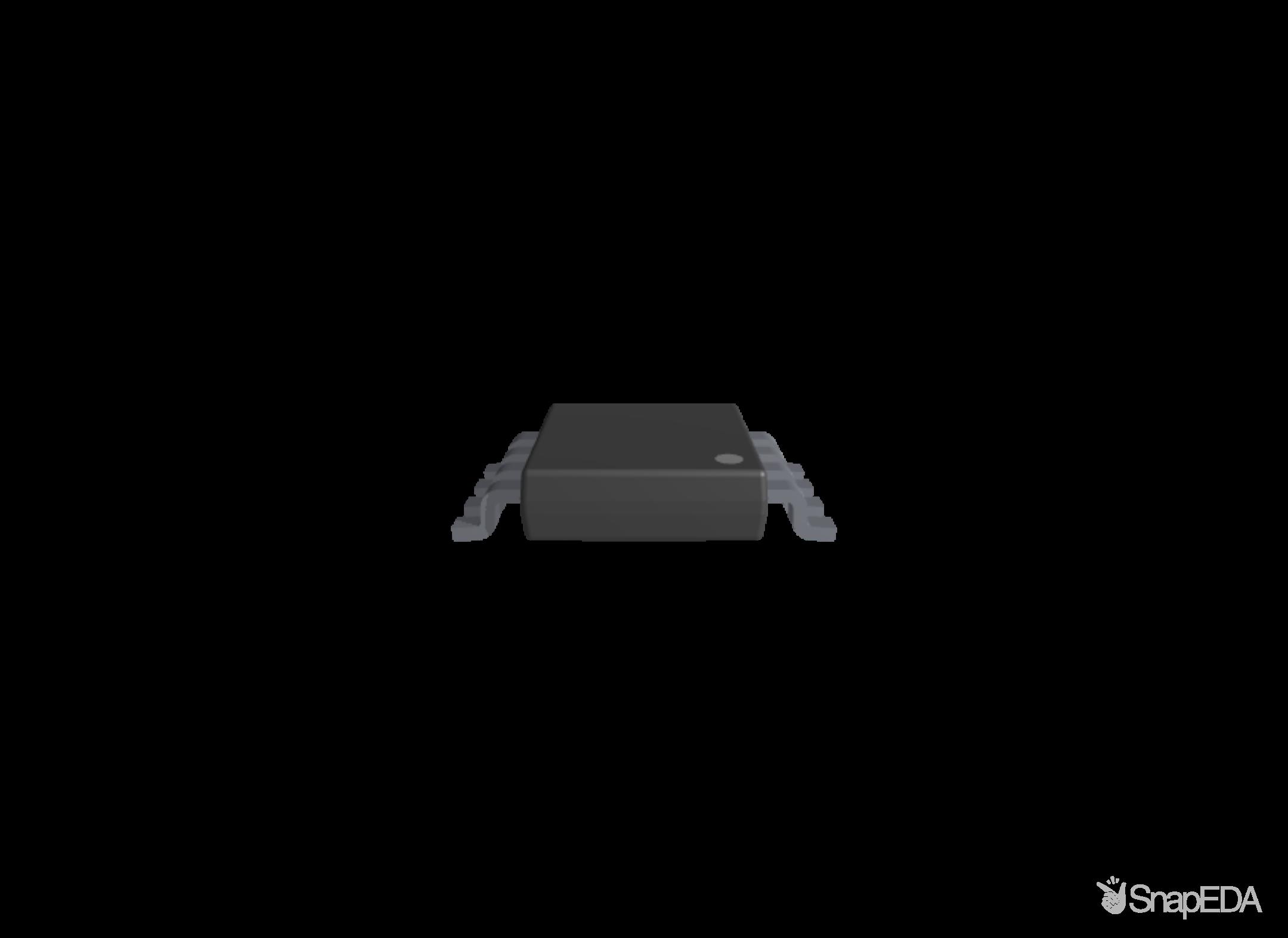 INA333AIDGKT 3D Model