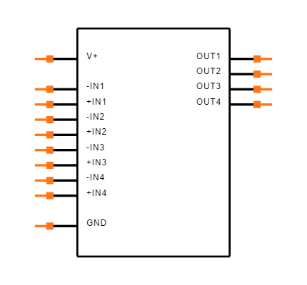 LM139J/PB Symbol