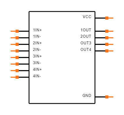 LM239AMDREP Symbol