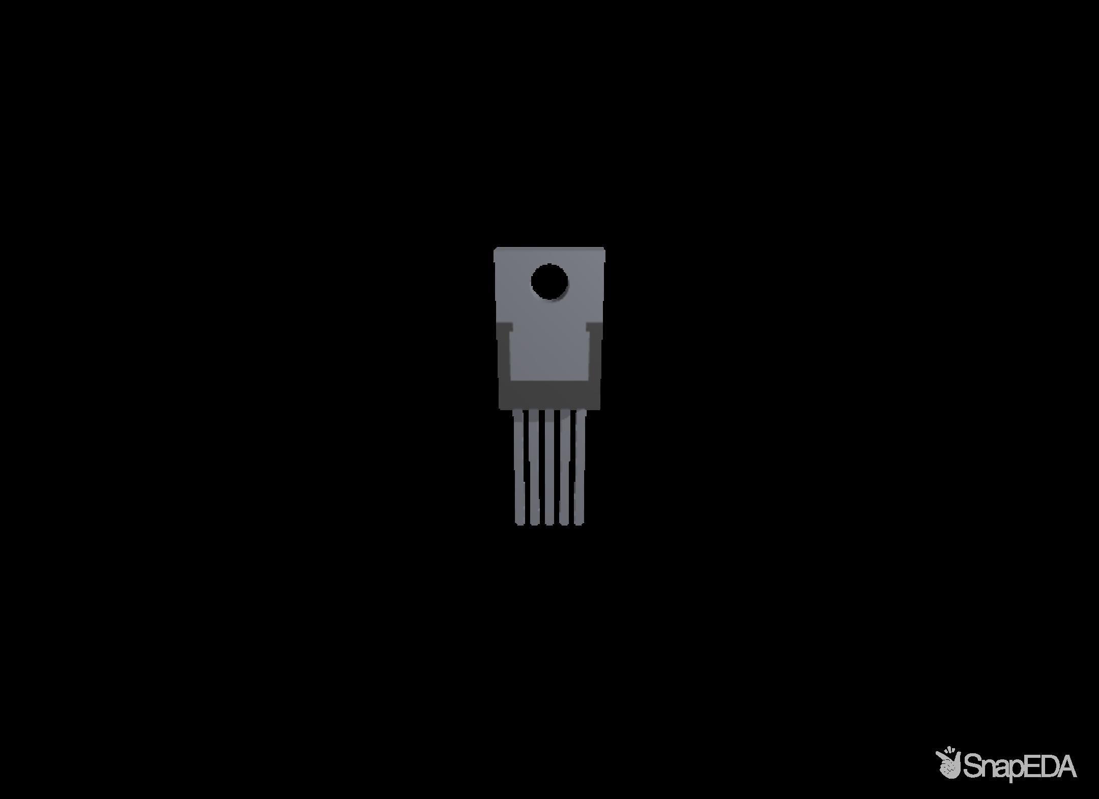 LM2575HVT-ADJ/NOPB 3D Model