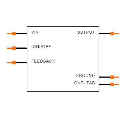LM2596S-5.0/NOPB Symbol