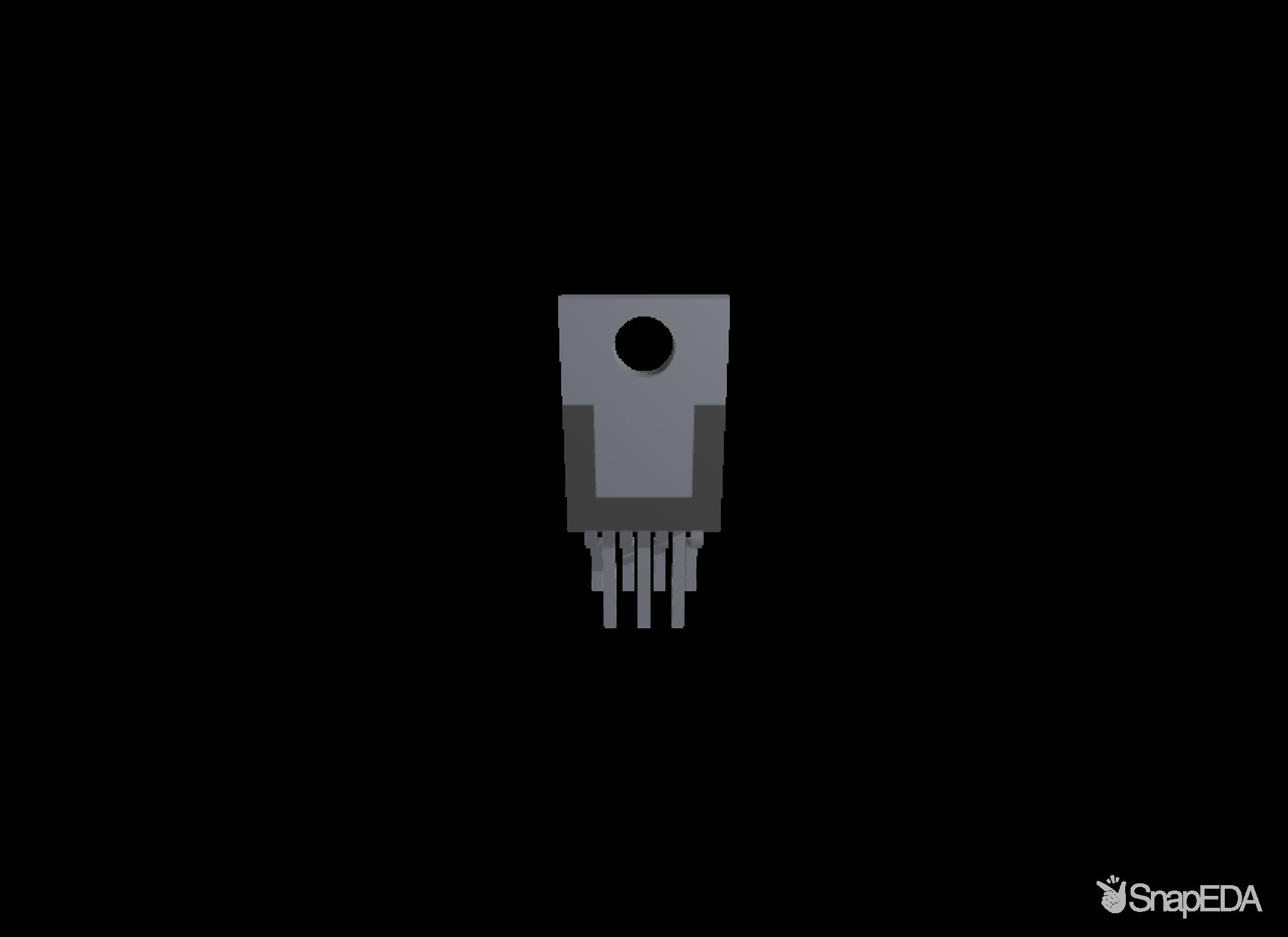 LM2678T-ADJ 3D Model