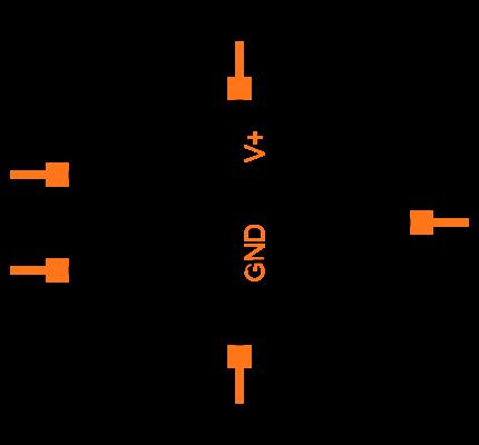 LM324N/NOPB Symbol