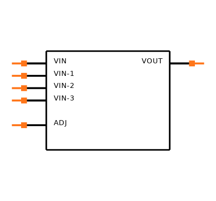 LM337LMX/NOPB Symbol