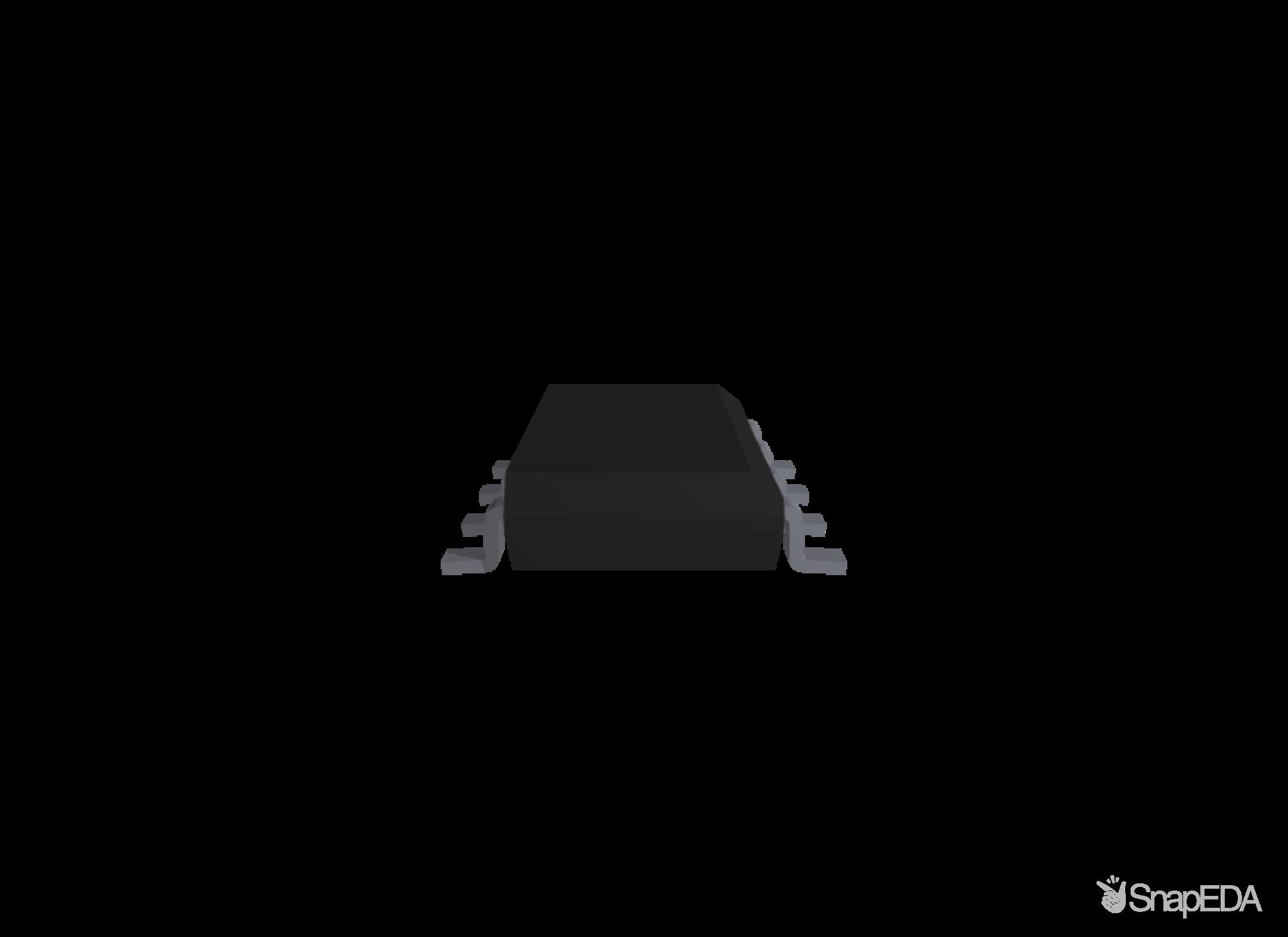LM358D 3D Model