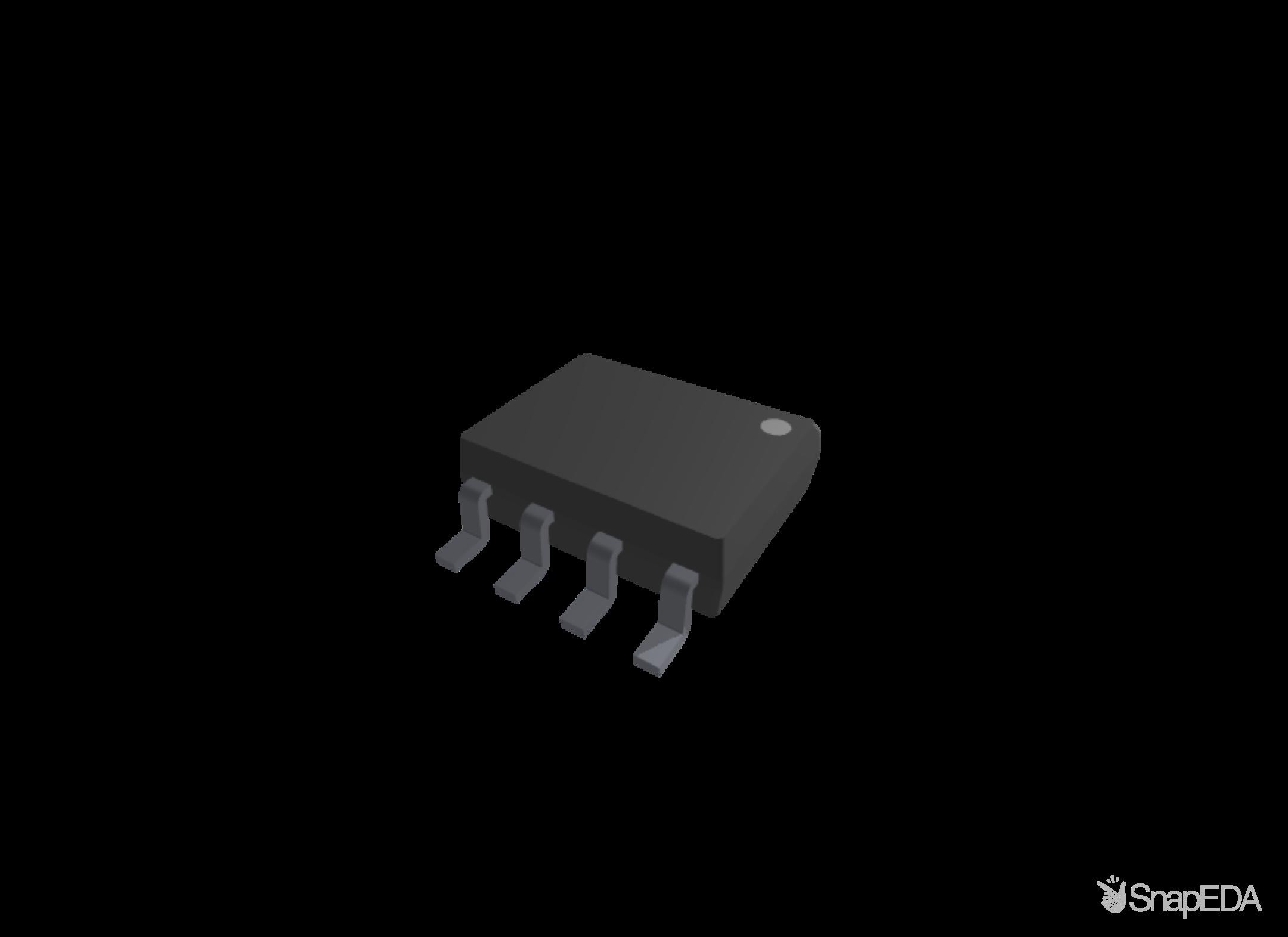 LM358M/NOPB 3D Model