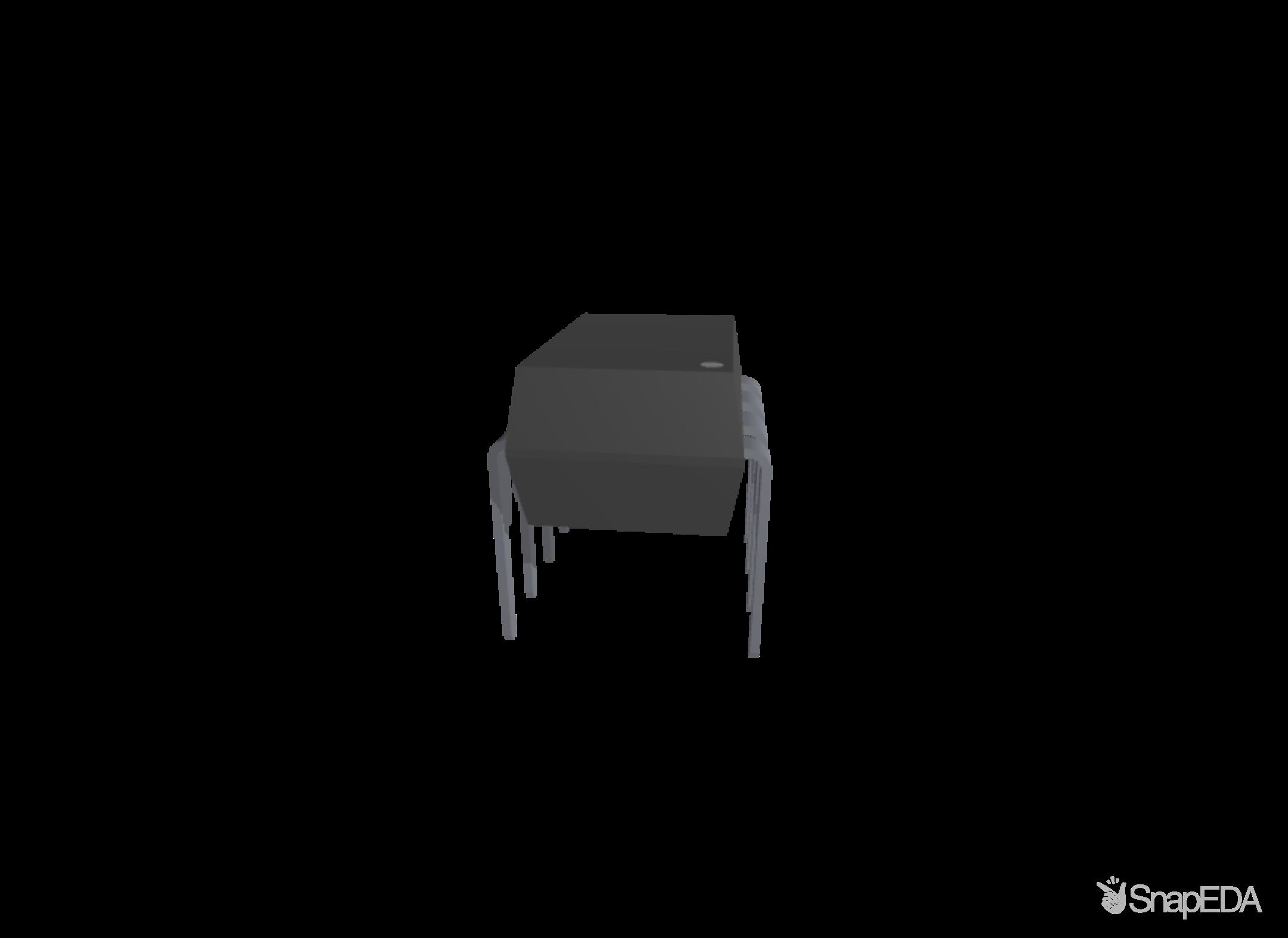 LM358N/NOPB 3D Model