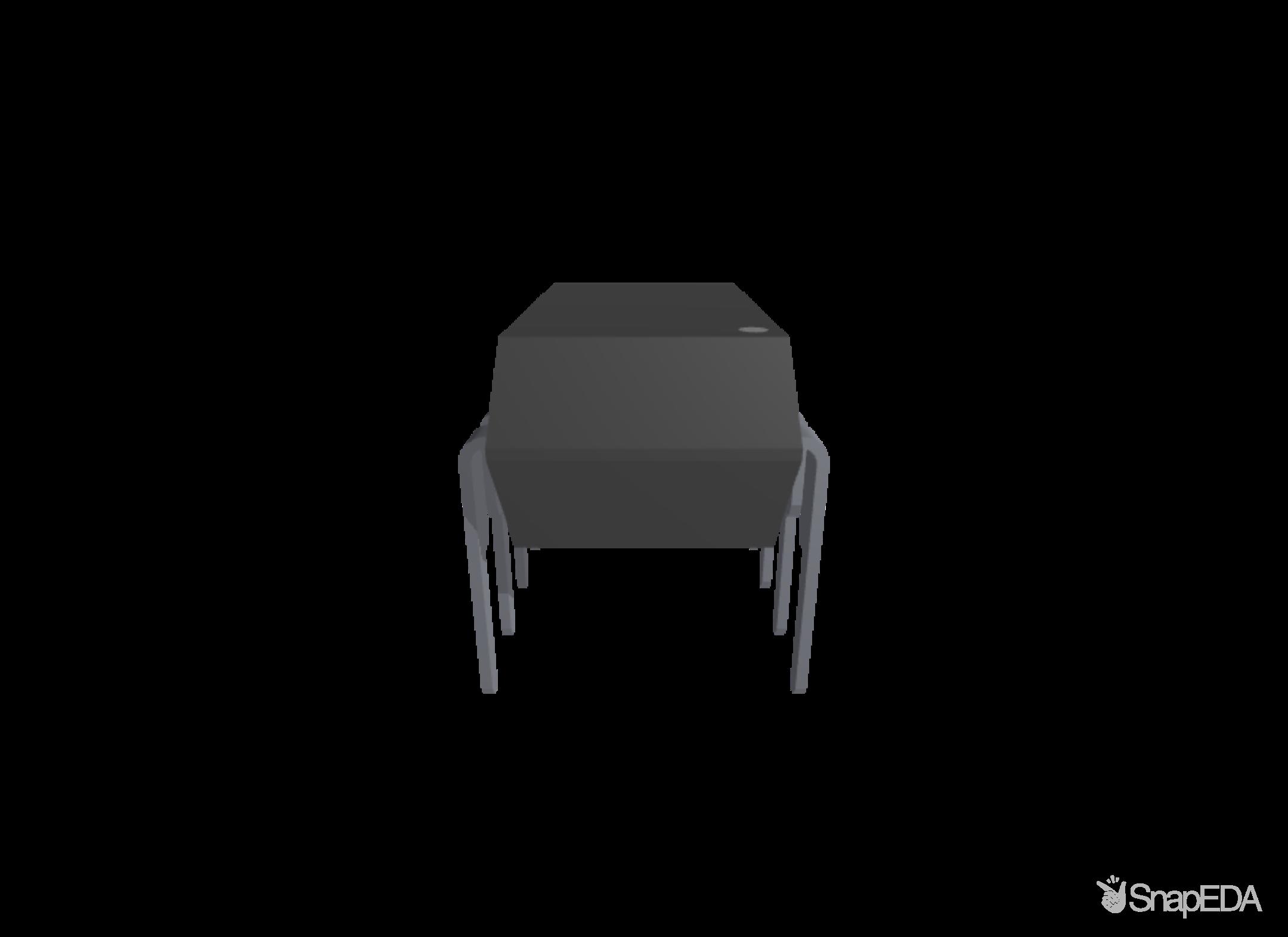 LM386N-4/NOPB 3D Model