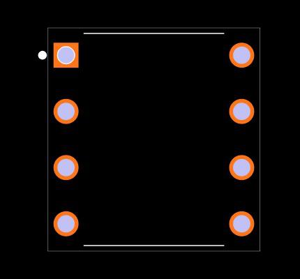 LM386N-4/NOPB Footprint