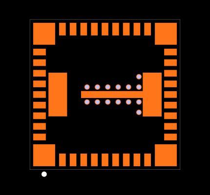 LMZ31707RVQT Footprint