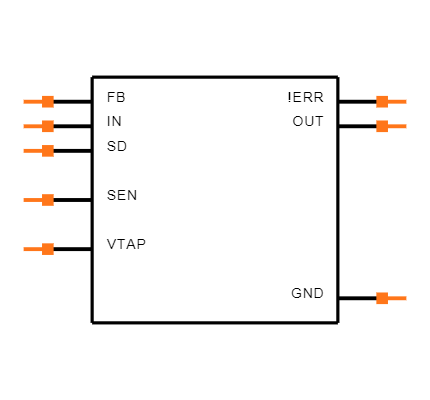 LP2951-33DR Symbol