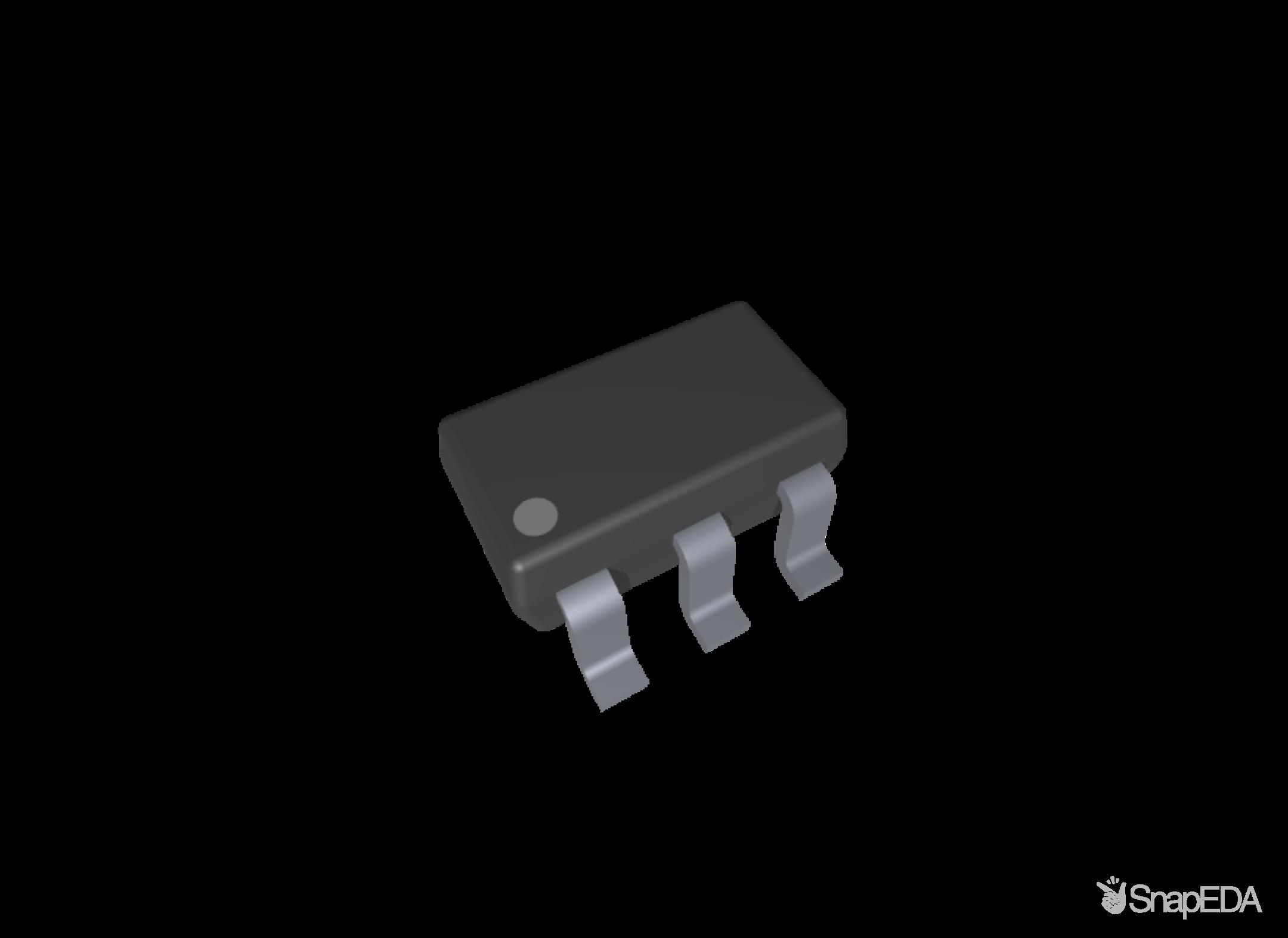 LP2985IM5-3.3/NOPB 3D Model