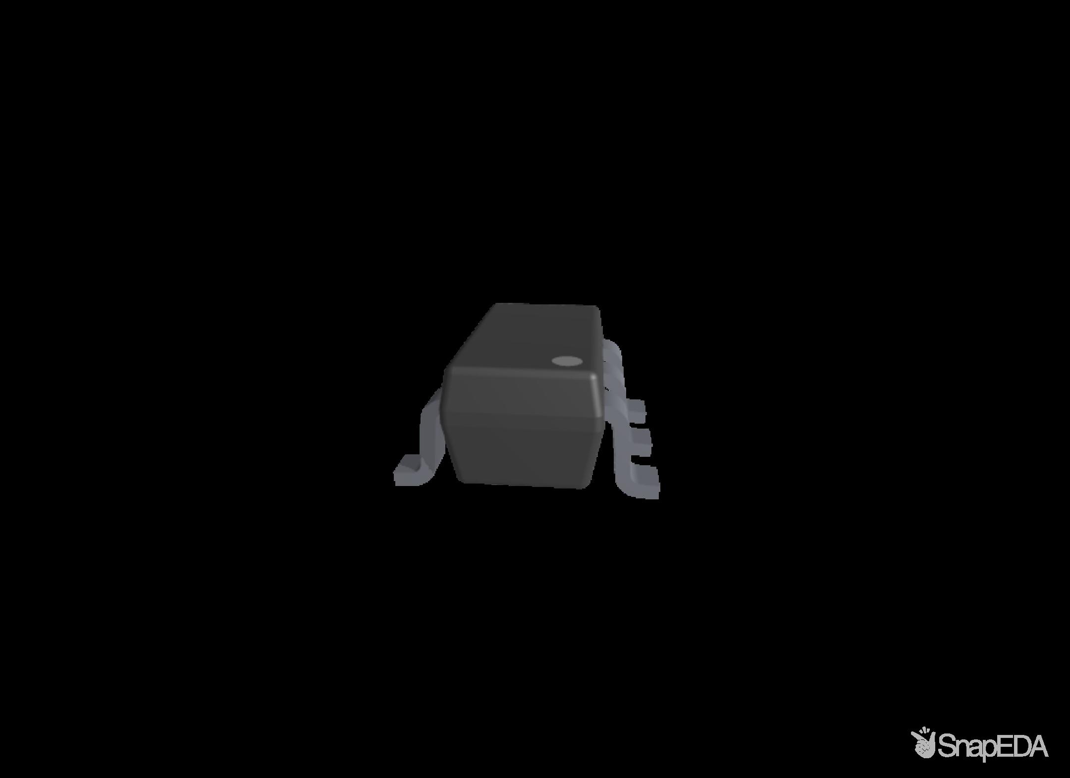 LP5907QMFX-3.3Q1 3D Model