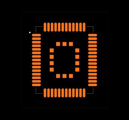 MC60 footprint & symbol by Texas Instruments | SnapEDA