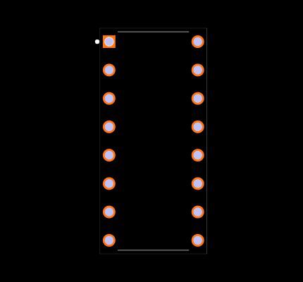 MPC508AP Footprint