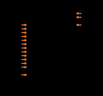 MPC508AP Symbol