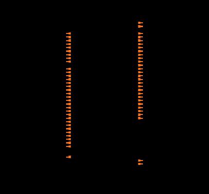 MSP430F147IPAG Symbol