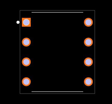 NE5532AP Footprint