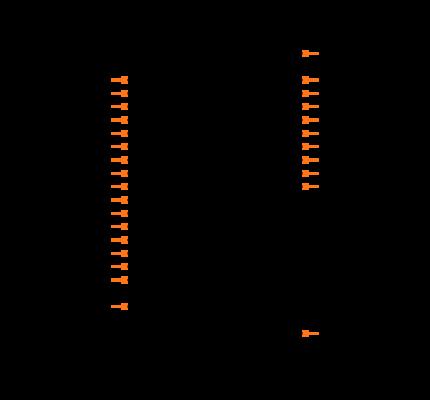 SN65HVS885PWP Symbol