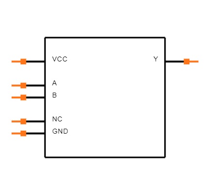 SN74AUP1G32DSFR Symbol