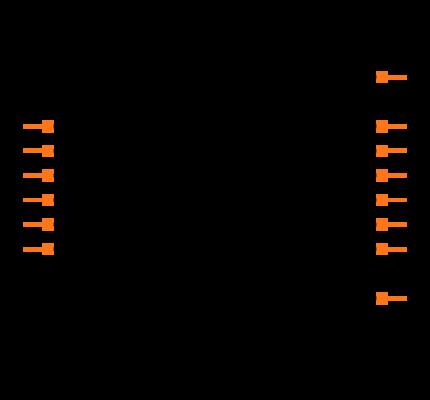 SN74HC14DR Symbol