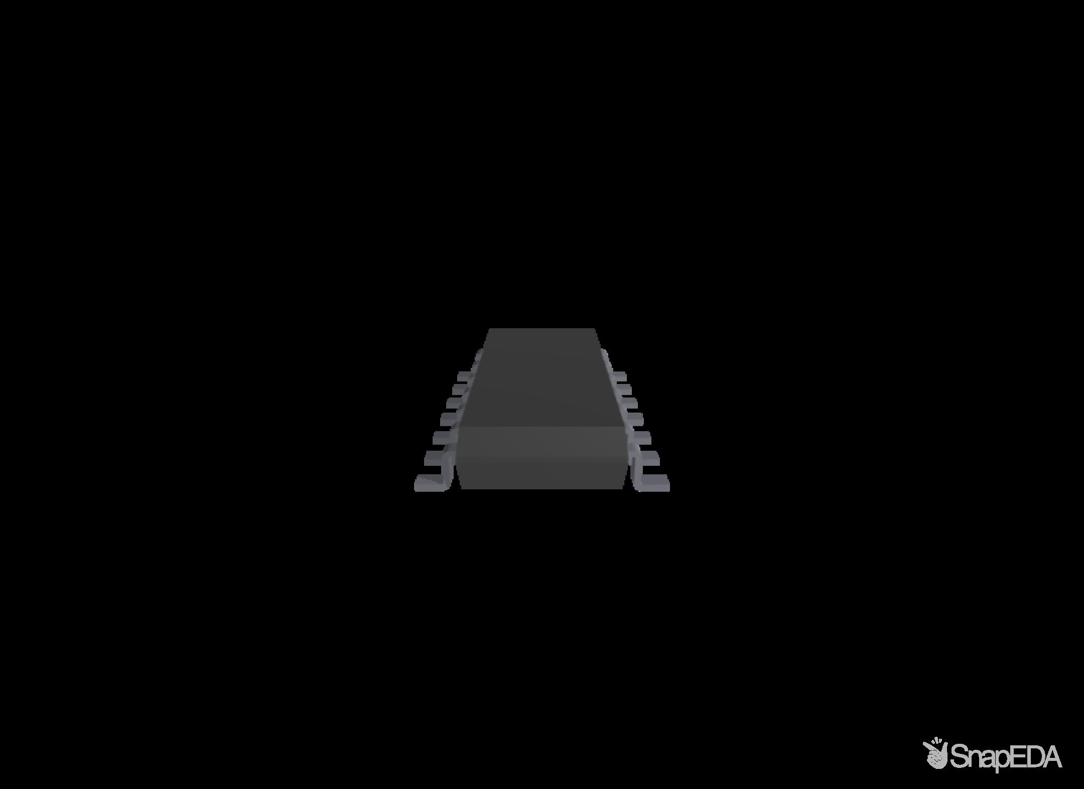 SN74HC4066DT 3D Model