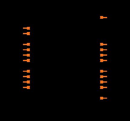 SN74HC540PWR Symbol